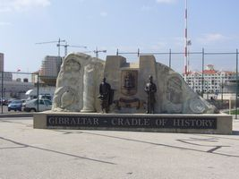 Gibraltan monument